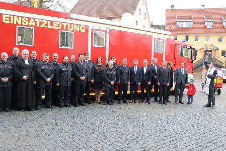 Das ist der neue Einsatzleitwagen der Feuerwehr